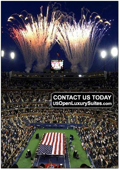 US Open Tickets, US Open Luxury Suites, US Open Tennis Hotels